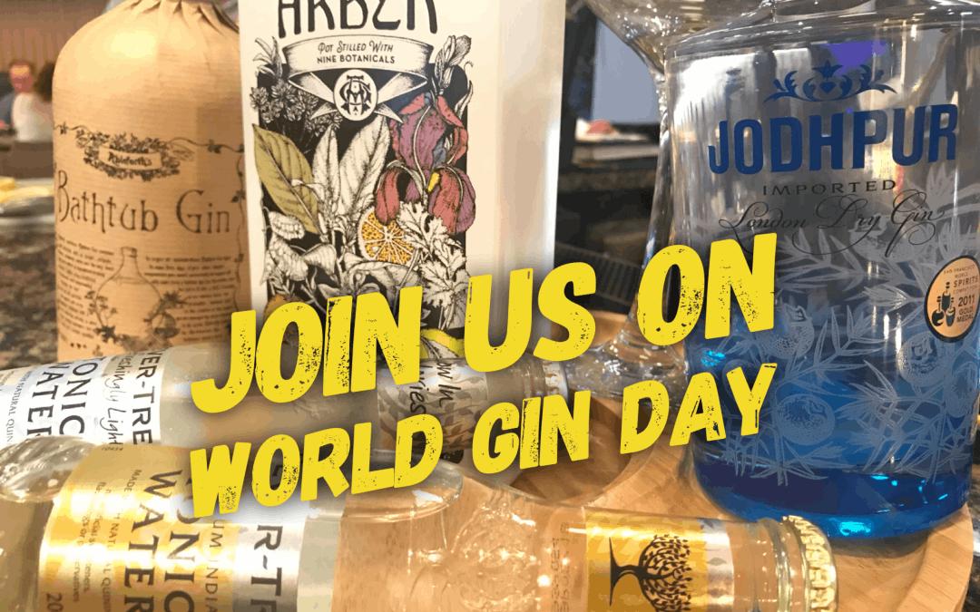World Gin Day Celebration Sat 8th June