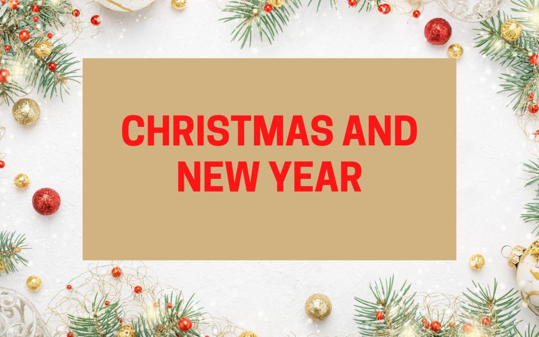 Christmas Day & New Year's Eve at K2H Sandbach